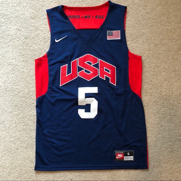 finest selection c69d6 7e9ab Kevin Durant USA Olympics Nike Jersey